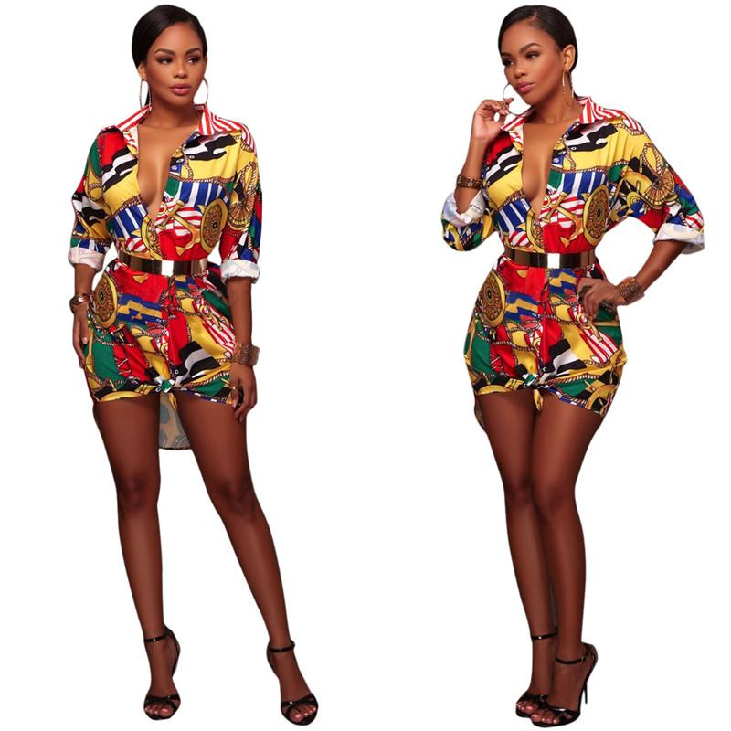Summer Long Sleeve Vintage Mini vestido Mulheres clássico Retro Praia Blusa Festa Casual Vestidos Preto S-XL