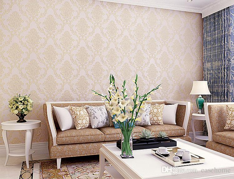 Non Woven Fabric Wallpapers For Living Room Home Decor In 5 Solid Colors 05310m Roller Desktop Wallpaper With High Resolution From
