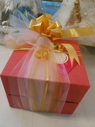 Tire de la cinta del arco para el arte, decoración de la boda, embalaje del regalo 30m m / set