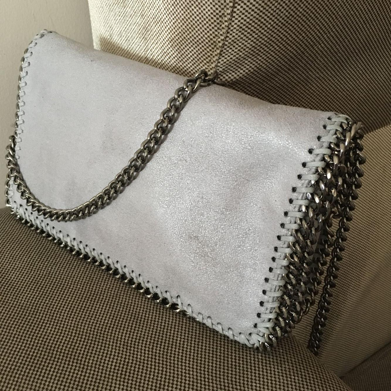 22cm Haspp PVC Shaggy Deer Falabella Flap Pocket Chain Bag Crossbody ... 15c332f5e23fa