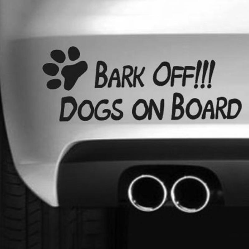 Grosshandel Bellen Sie Weg Hunde Lustig Auto Autoaufkleber Drift Van