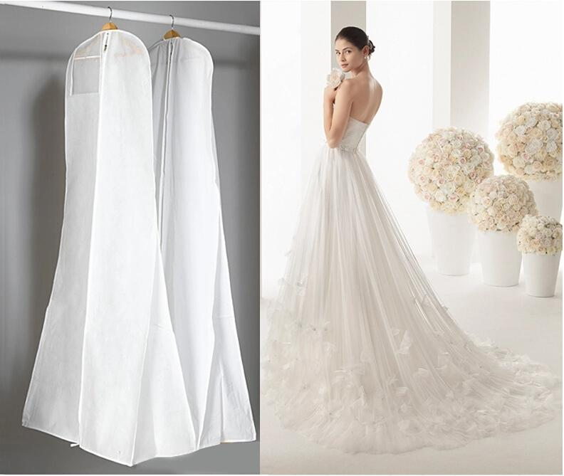 2018 Length 170cm Cheap Wedding Dress Bags Clothes Cover Dust Cover ...