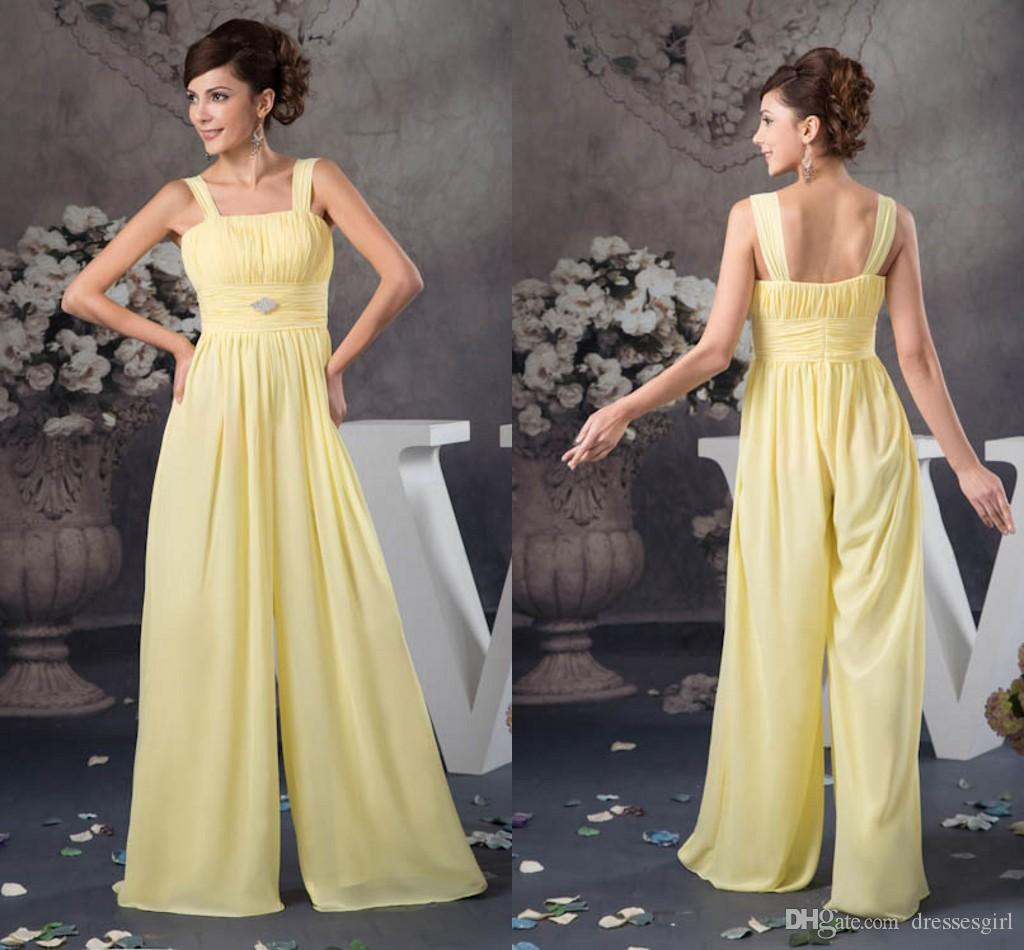 2018 Formal Evening Dresses Yellow Women Suits Pleats Long Prom Gowns See  Though Backless Party Dress Evening Dresses For Plus Size Evening Dresses  For Sale ... 48253a70e