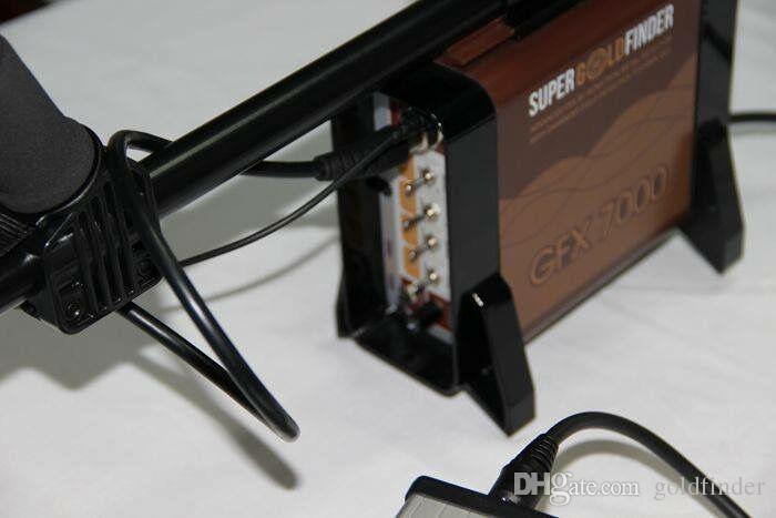 Détecteurs de métaux souterrains GFX7000 pour la découverte de mines GFX-7000 de la sonde de détection d'or à longue portée de Treature Hunt