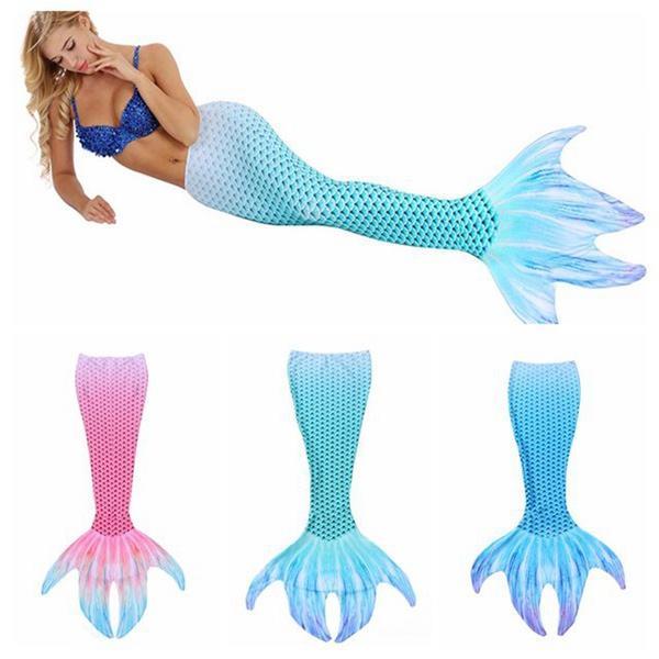 Grosshandel Frauen Urlaub Pool Party Meerjungfrau Schwanz Badeanzug