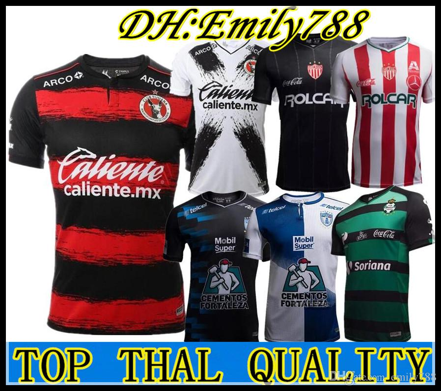 2018 2019 México Liga MX Club León Necaxa Pachuca Santos Laguna Local  Visitante Tailandia Camisetas De Fútbol 18 19 Camisetas De Futbol Camisetas  Por ... 4e2b69455c470
