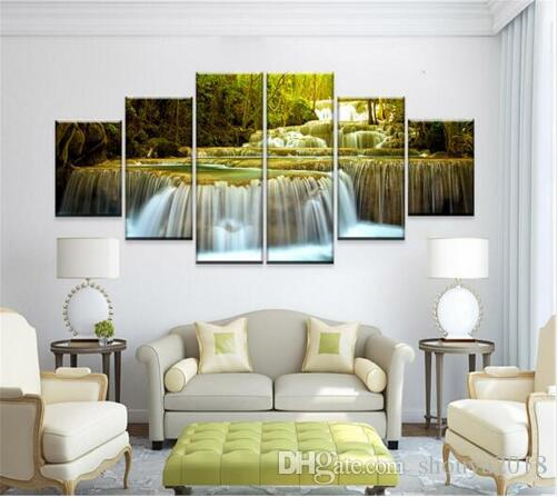 canvas oil painting decoracion multi panel wall art pictures
