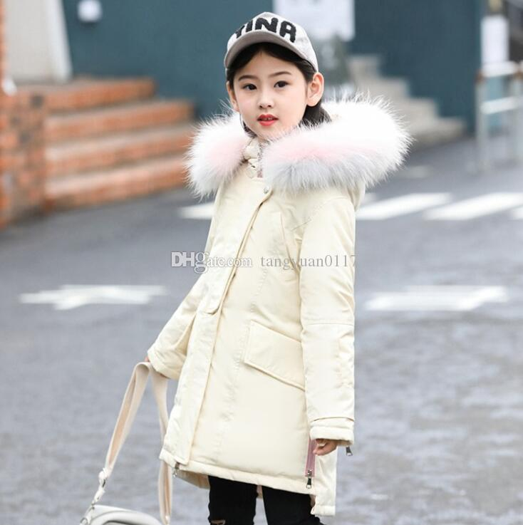2183c4ebcacc 2018 Princess Winter Coat For Girls Made Of Goose Feather For Girls  Children Outerwear Age 6 8 10 12 14 Years Girls Clothing Outfit Down Coats  Girls Add ...