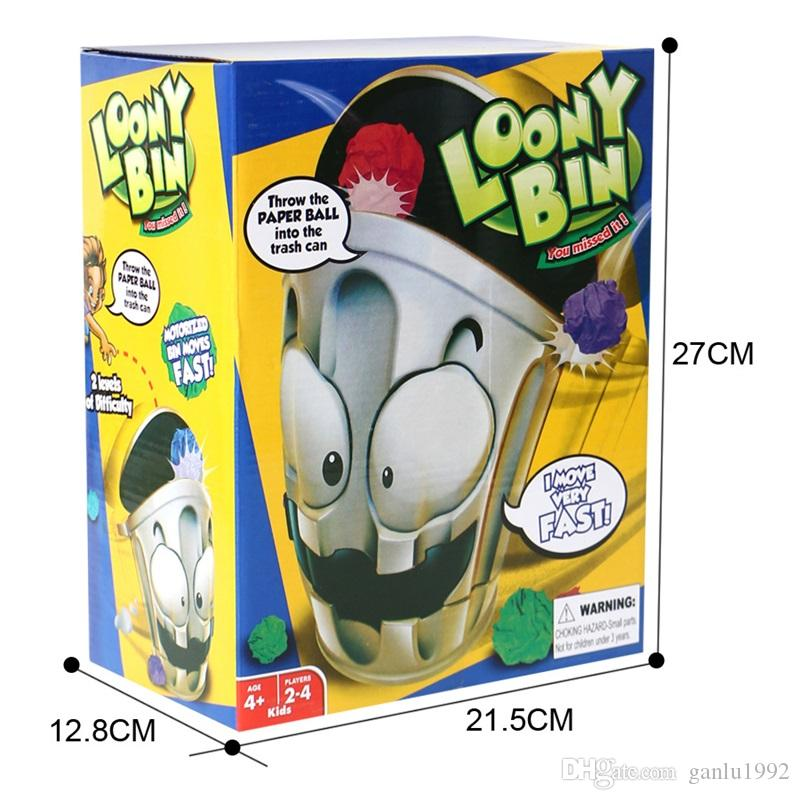 Garbage Bins Decompression Toys Funny Loony Bin Electronic Trash Can Toy Kid Gift Hot Sale 13sy C R