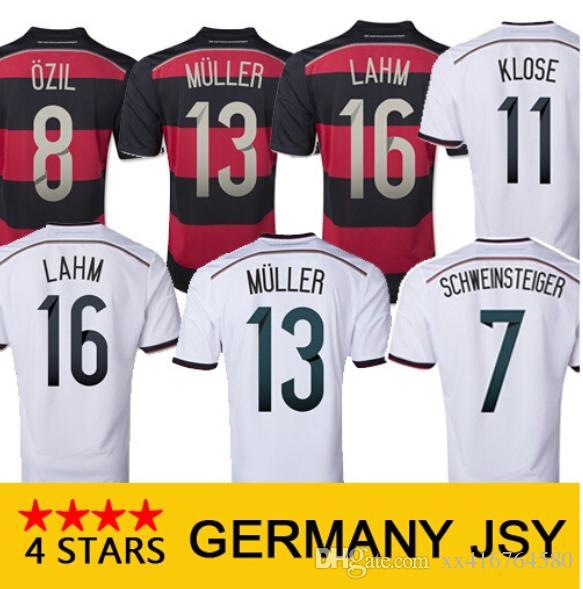Compre 4 Estrelas Campeão 2014 Alemanha Retro Camisas De Futebol 14 15  Futebol Alemanha Camisa De Xx416764580 c15f19437052b