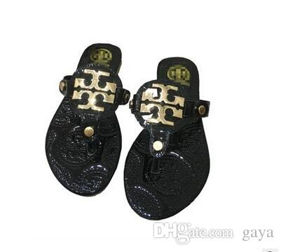 4306628268e356 Hot Sale Fashion Camellia Slippers Summer Flip Flops Shoes Pinch ...