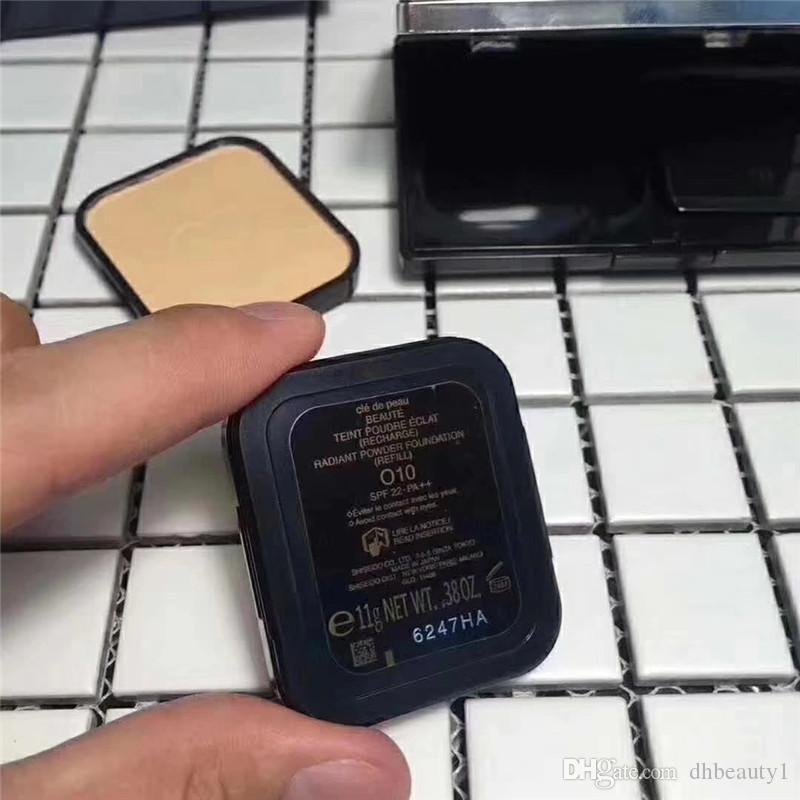 일본 CPB 압박 분말 재단 I10 O10 최고 품질의 브랜드 메이크업 화장품