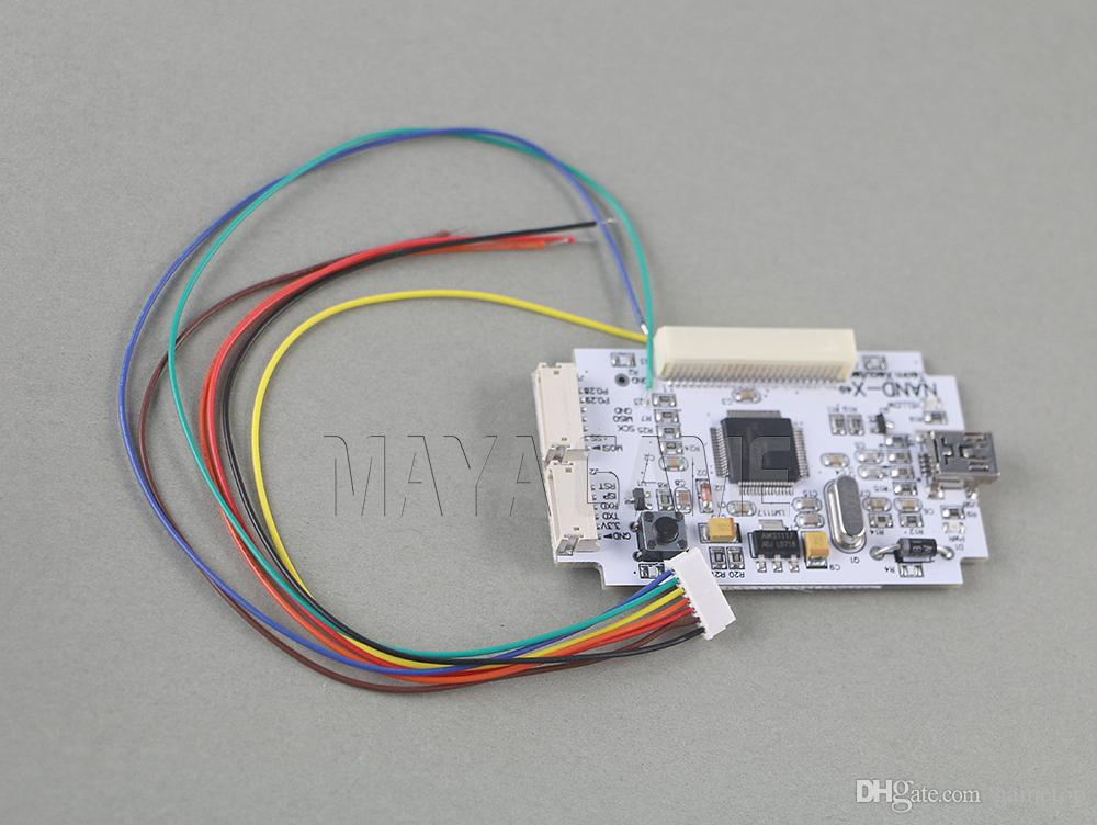 Original new No Crystal Shell TX Nand-X NEW STANDALONE version (RGH  Edition) simple Kit For xbox 360