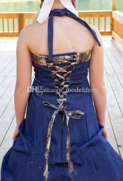 2020 Nuovo Cowboy Camo abiti da sposa Sweetheart pieghe del corsetto Indietro A allini Vintage Garden Country Abiti da sposa Abiti De Noiva