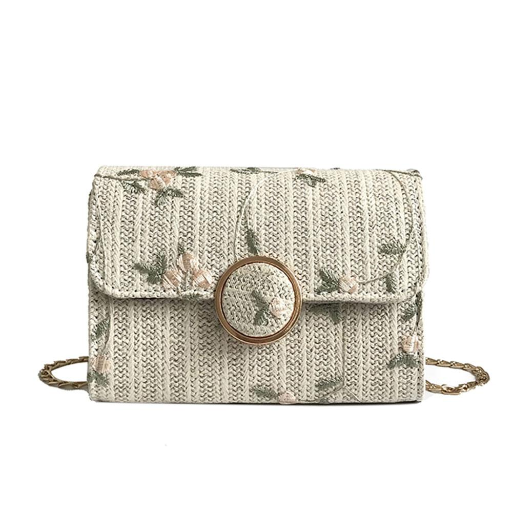 Fashion Sweet Women Crossbody Bags Female Small Surface Woven Flower  Embroidery Messenger Shoulder Bag Vogue Cheap Bags Name Brand Purses From  Showzone c9edb95cc4034