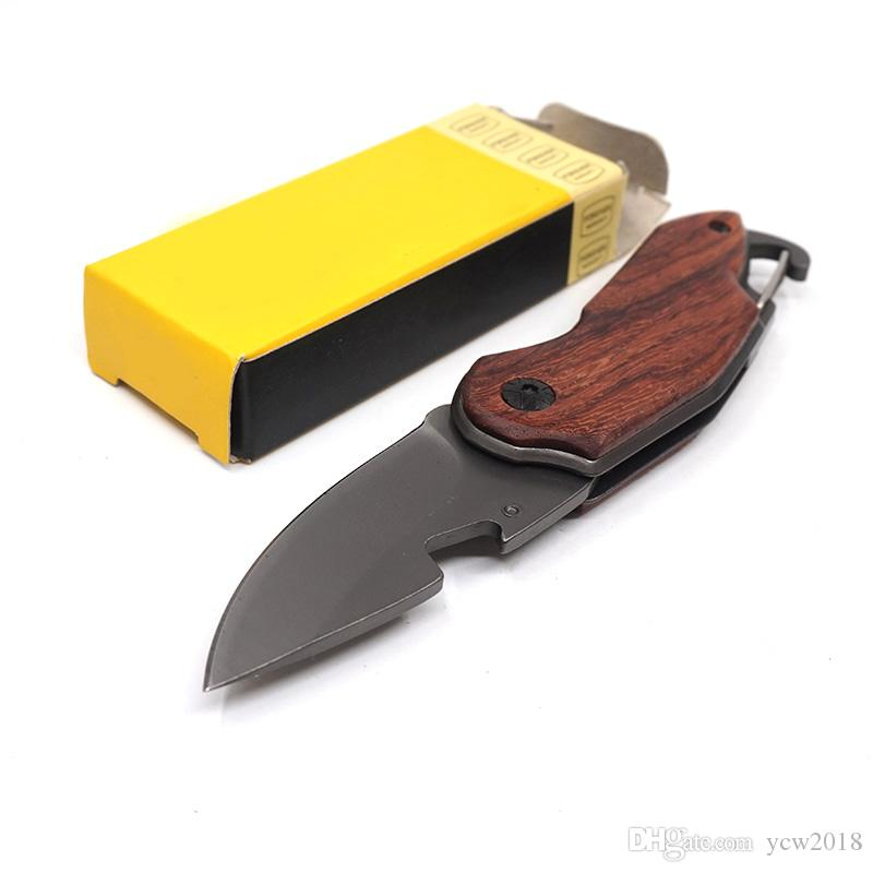 Mini Multifunctional X48 Folding Pocket Knife Portable Survival Hunting Camping Knives 440 Steel With Rosewood Handle Outdoor Tools