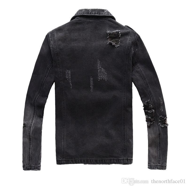 Balmain Herren Jacken Mode Herren Damen Jeansjacke Lässige Hip Hop Stylist Jacke Herrenmode Größe M-4XL