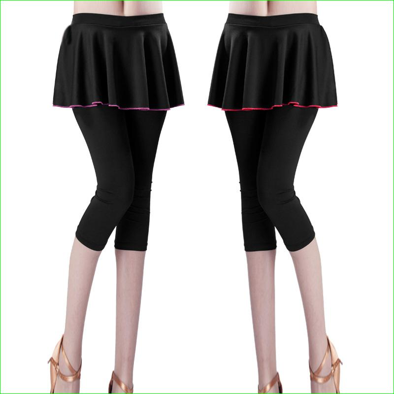 3058cb273a7e47 2019 Female Tennis Capri Skirt Running Surfing Skirted Leggings Yoga Dance Pants  Tights Women Athletic Skorts From Portnice, $25.9 | DHgate.Com