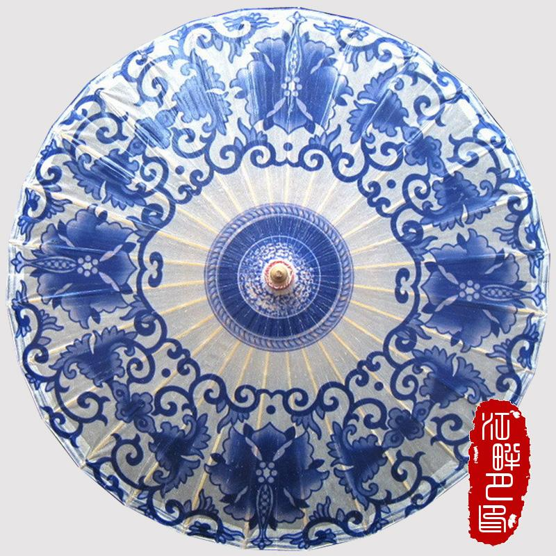2018 chinese blue and white flower sun parasols umbrella women 2018 chinese blue and white flower sun parasols umbrella women traditional dance parasol japanese oil paper props paraguas from huojuhua 3704 dhgate mightylinksfo