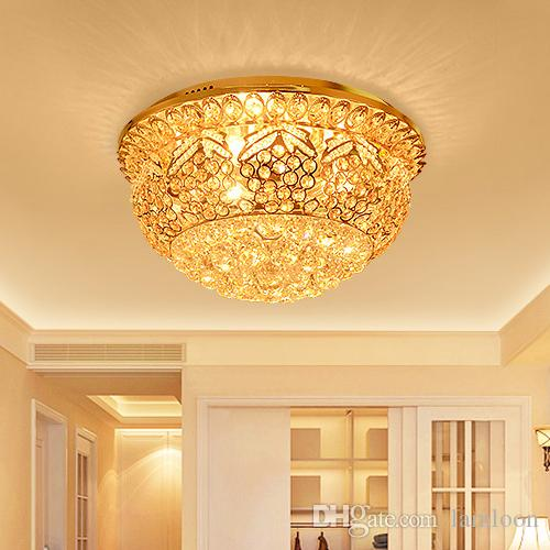 Crystal Ceiling Chandelier Luxury Royal European Pendant Led - Orange chandelier crystals