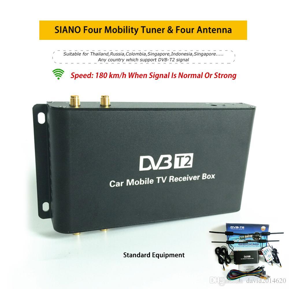 Großhandel 180 Km H Vier Antenne Auto Digital Tv Turner Dvb T2