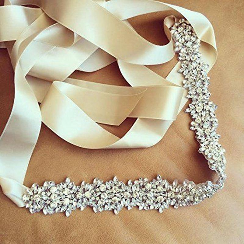 JLZXSY Weddin Bridal Sash Fashion Crystal Rhinestone Sash Belt Ribbon  Evening Dress Belt45cm 5cm Custom Belt Buckles Bullet Belt From Gwyseller 9f4a6bd466a0