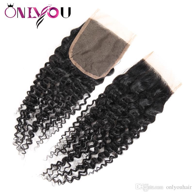 Большое продвижение пучки переплетения человеческих волос глубокая волна с закрытием бразильские глубокие вьющиеся волосы девственницы и закрытие шнурка влажные и волнистые волосы