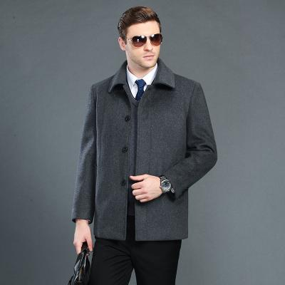 AYUNSUE Winter Jacket Wool Coat Men Parka 2017 New Short Turn Down Collar Cashmere Coat Manteau Homme Male 3XL Outwear LX777