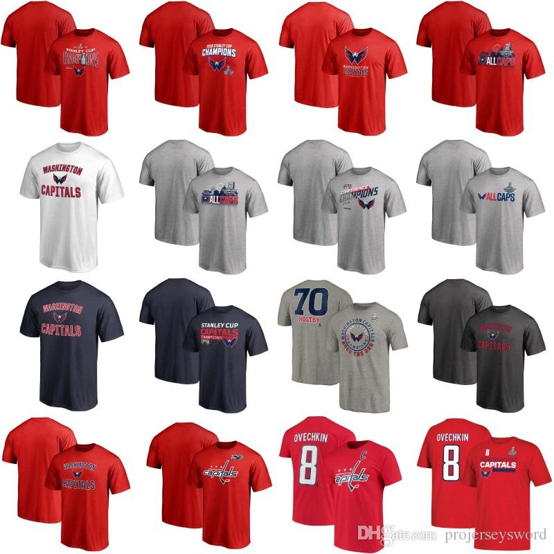 2018 Stanley Cup Champion T-shirt Mens Womens Youth Washington Capitals Hometown Attacking Zone T-Shirt Jerseys Fast Shipping Mix Order
