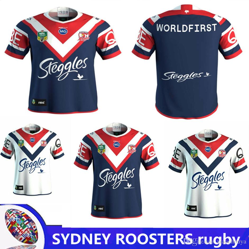 2018 NRL JERSEYS SYDNEY ROOSTERS Home Rugby 2017 Hot Sales Australia ... 730e0428d