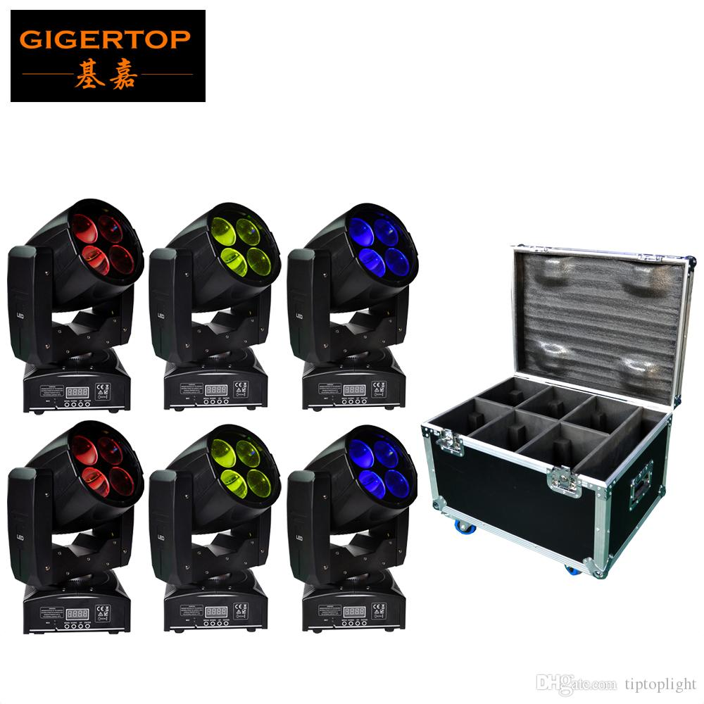 Online Cheap Flight Case Packing 6xlot Mini Simple Led Super Beam