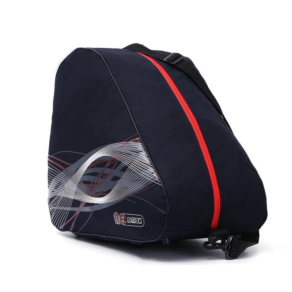 buy popular 5b498 57eb4 Spessa scarponi da sci di ghiaccio professionale borsa scarpe da skate  Skate portatile Carry tracolla antiscivolo per accessori snowboard
