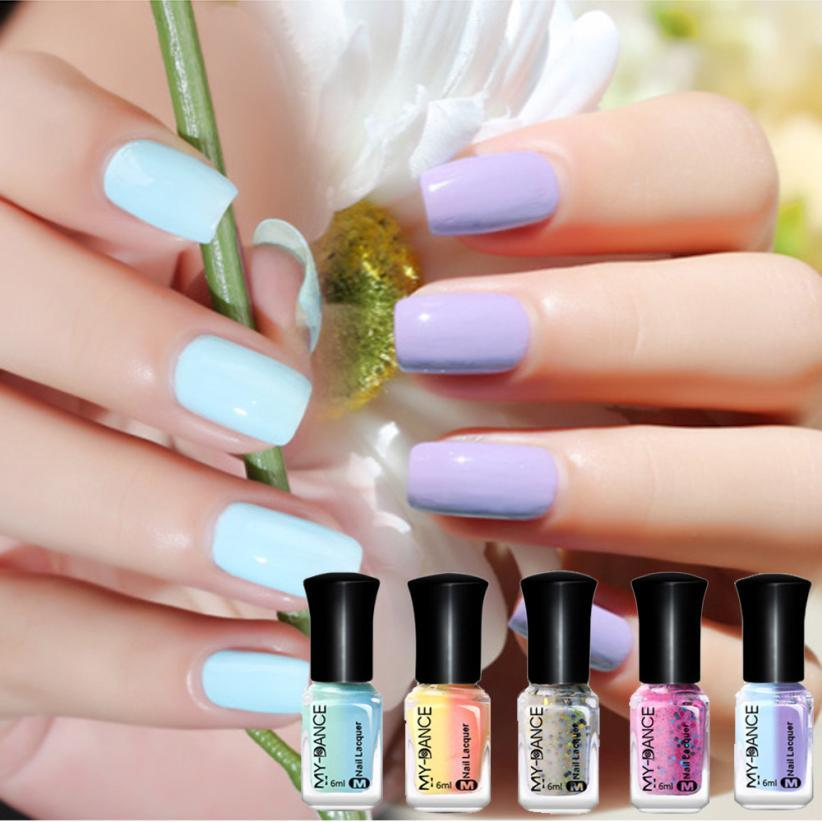 Newest!!! 6ml Thermal Nail Polish Peel Off Sunlight Colour Changing ...