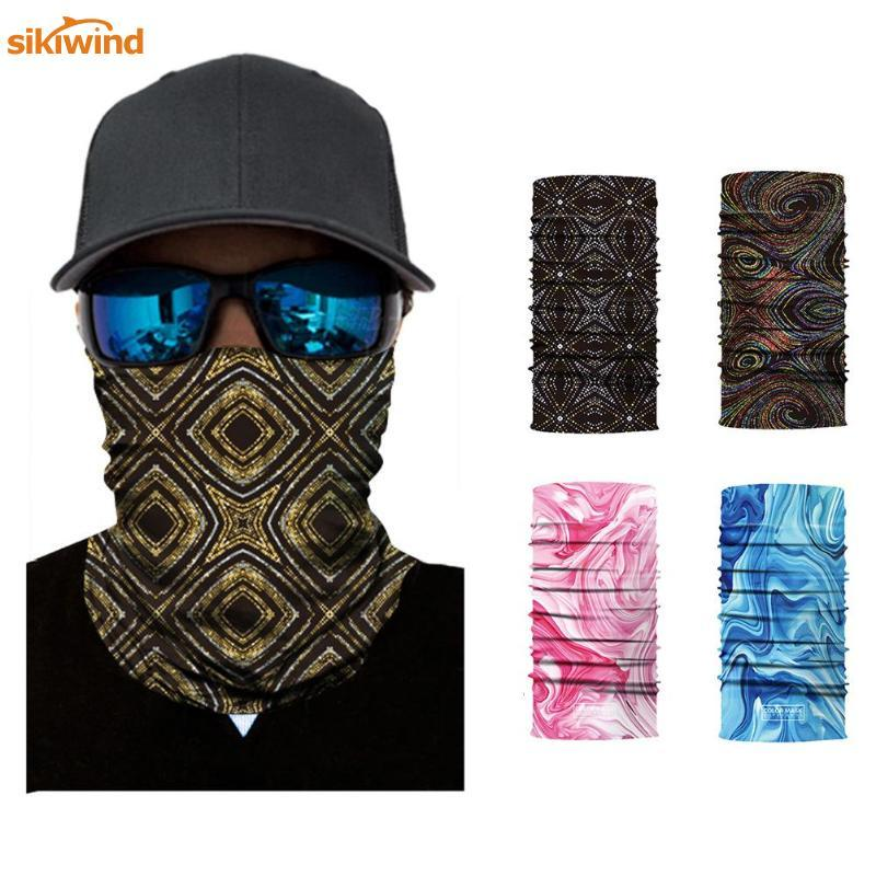 Pottery & Glass Bicycle Magic Scarf Outdoor Sports Riding Face Mask Bike Headband Breathable Seamless Neck Warmer Strong Water Absorption