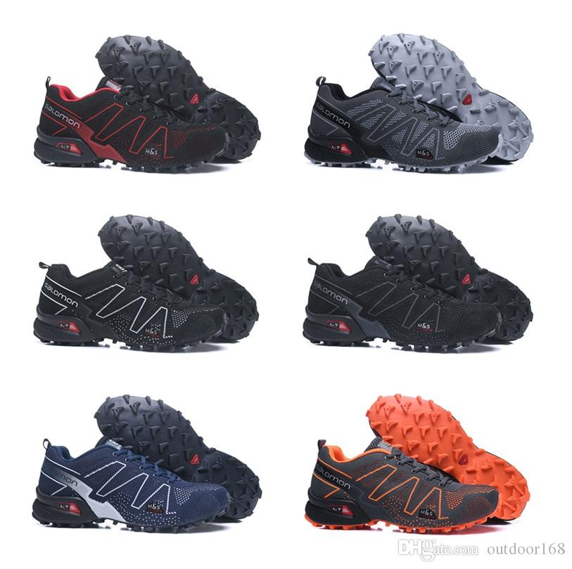 50cecfc0cf17 2019 2018 Salomon Men S Speedcross 3.5 Trail Best Quality Men Black Outdoor Running  Shoes Fashion Sports Jogging Sport Sneakers Outdoor Walking From ...