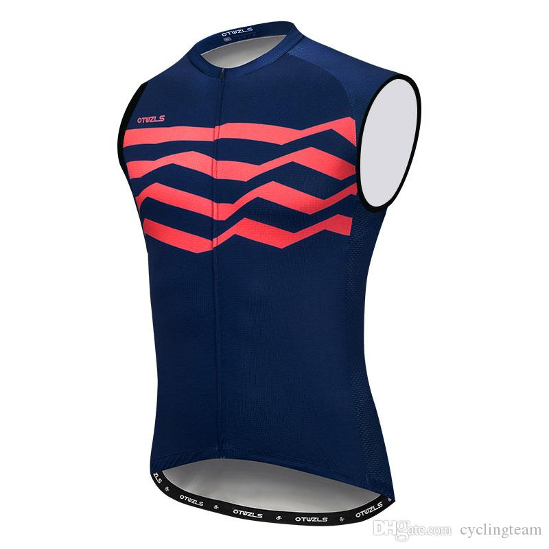 2018 Cycling Jersey Sleeveless Men Cycling Jersey Vest MTB Bicycle ... a3dee7fb9