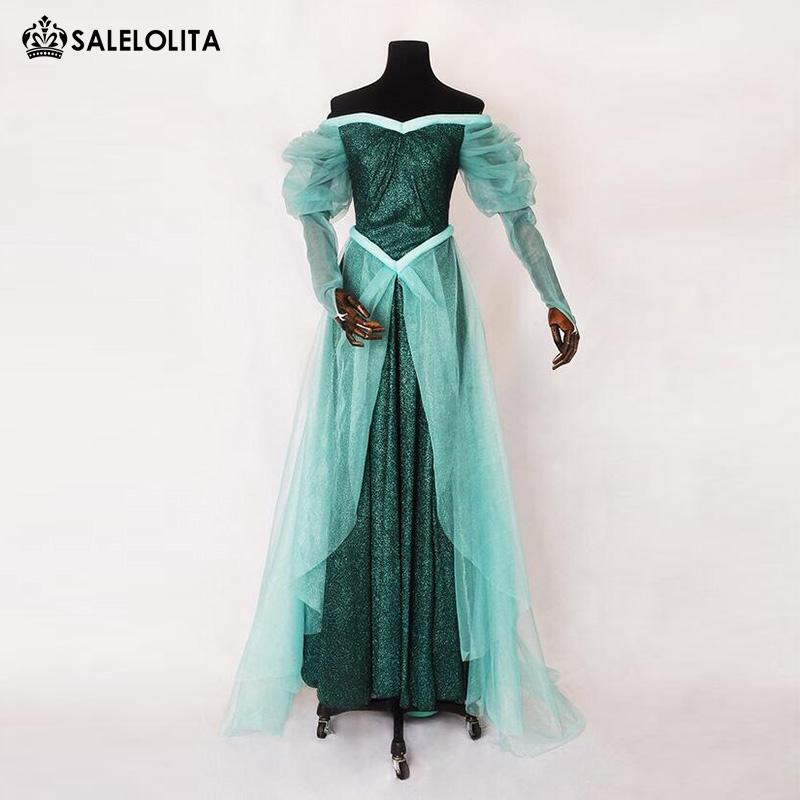 Brand New Adult The Little Mermaid Princess Dresses Women Anime Cosplay  Halloween Carnival Party Dresses Costumes Cool Group Costumes Themed  Costumes From ...