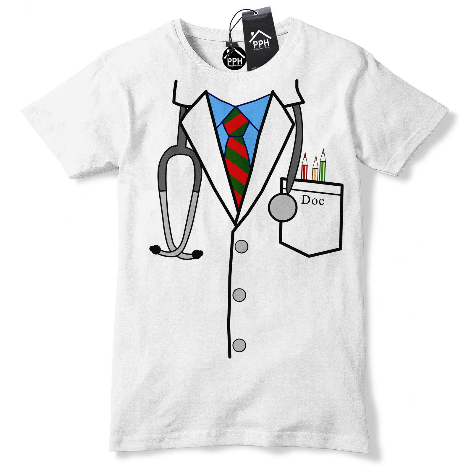 Doctor Uniform T Shirt Novelty Gift Hospital Nurse Surgeon Gift 547 Funny free shipping Unisex Casual tee gift