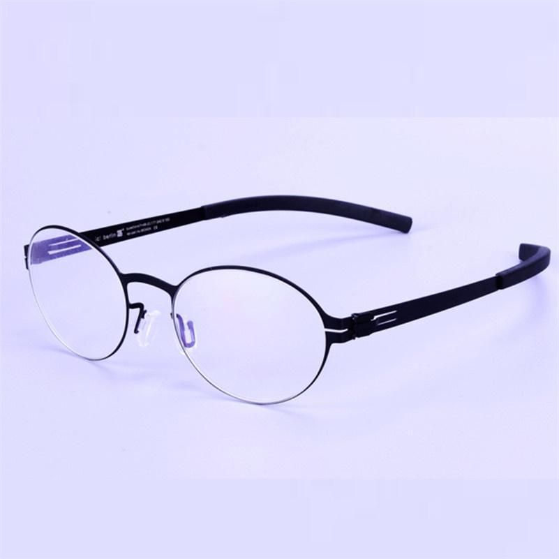 a5082dd96b738b Acheter Montures De Verre De Style Vintage Lunettes Sans Vis Cadre De Lunettes  Rétro Pour Hommes Et Femmes Lunettes De Vue Optiques Oculos De  42.7 Du ...