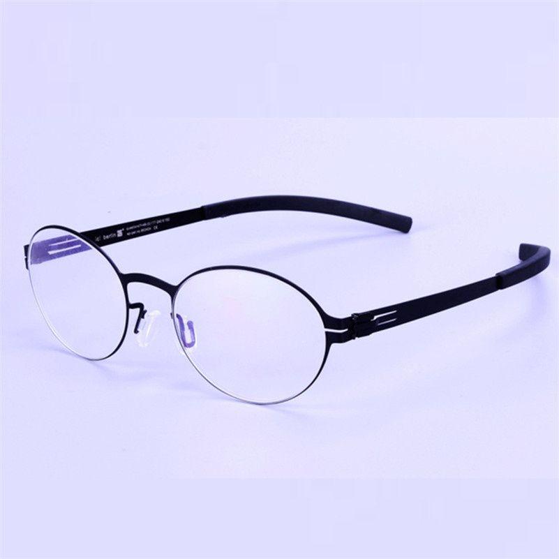 Großhandel Vintage Stil Glasrahmen Screwless Brillen Retro ...
