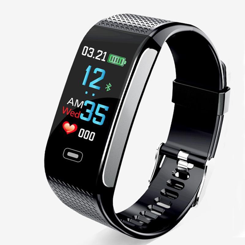 c73ce89951a4 Compre Pantalla En Color Reloj De Mujer Relojes Inteligentes Hombres Reloj  Electrónico Impermeable Pareja Reloj Inteligente Movimiento Monitoreo  Inteligente ...