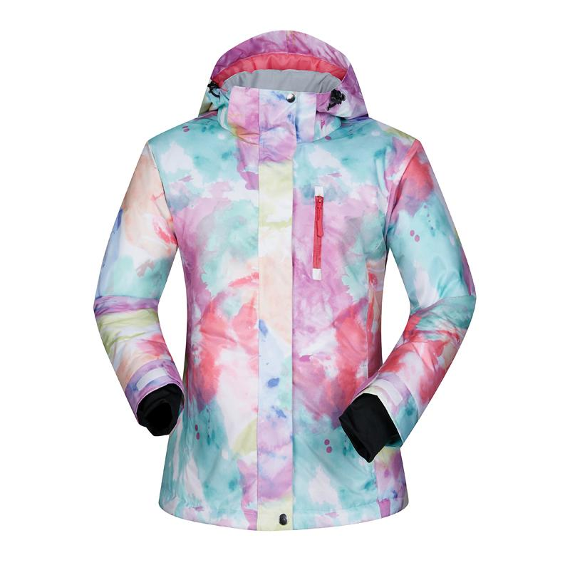 2019 Ski Jacket Women Waterproof Warm Windproof Snow Jacket Thermal Coat  For Outdoor Mountain Skiing Snowboard Plus Size Brand From Yiyunwat afcacbd08