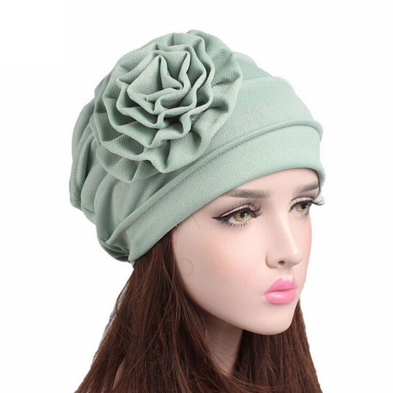 af406f7271380 Compre Gorro De Algodón Mujer Sombrero De Invierno Mujeres Para El Otoño  Mujeres Cáncer Chemo Hat Beanie Bufanda Turbante Cabeza Abrigo Gorros   YL  A  25.27 ...