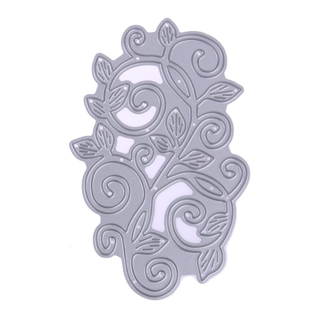 Leaves Lace Design Metal Cutting Dies Stencils for DIY Scrapbooking photo album Decorative Template Embossing DIY Paper Cards