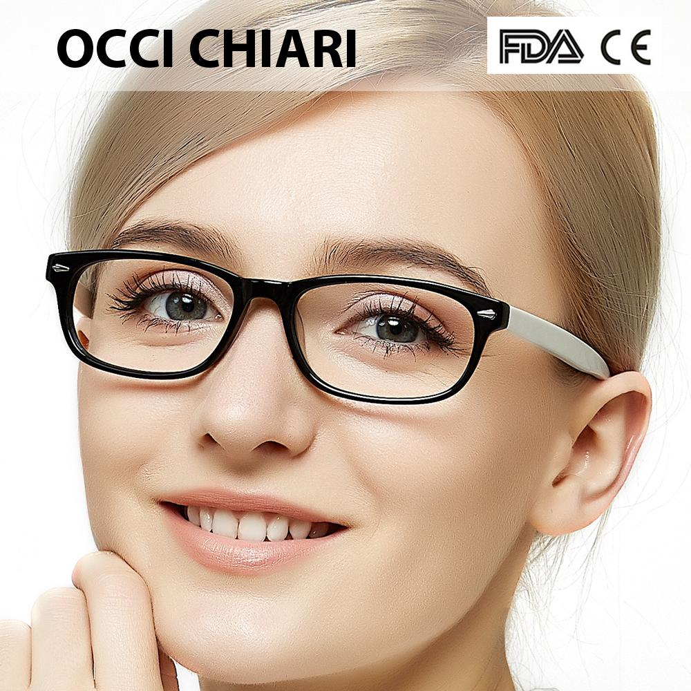 9258bc278d1 2019 OCCI CHIARI Eye Glasses Frames For Women 2018 Acetate Myopia Clear  Lens Frames Optical Demi Pink Eyeglasses Spectacles W CERIO From Jianyue16