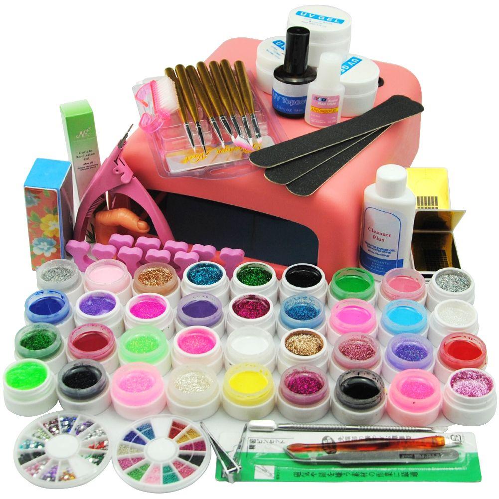 Tools Sets Kits 36W Dryer UV Lamp for Nail UV Gel Polish Manicure ...