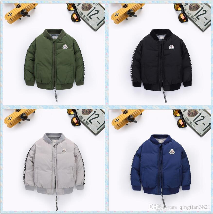 ecaabcba5e17 Winter Baby Boys Girls Jacket Fashion Outerwear Warm Kids Baby ...