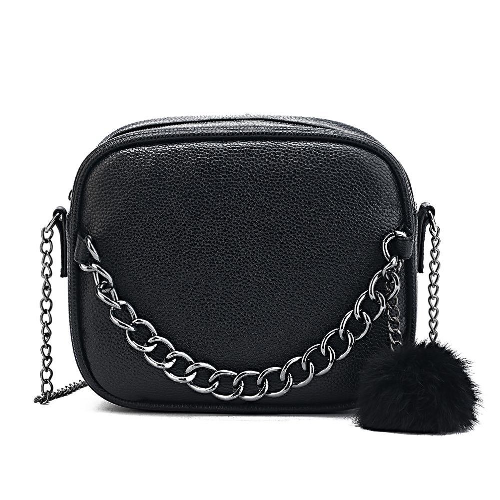 Famous Designer Long Chain Bag Women Pu Leather Handbag Women