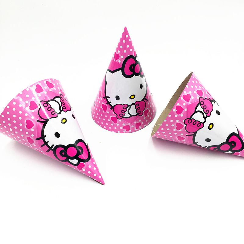 0b9016770 HELLO KITTY THEME PARTY HATS BABY SHOWER PARTY DECORATION HELLO KITTY PAPER  HATS MOUSE THEME BIRTHDAY SUPPLIES Bachelorette Party Supplies Bachelorette  ...