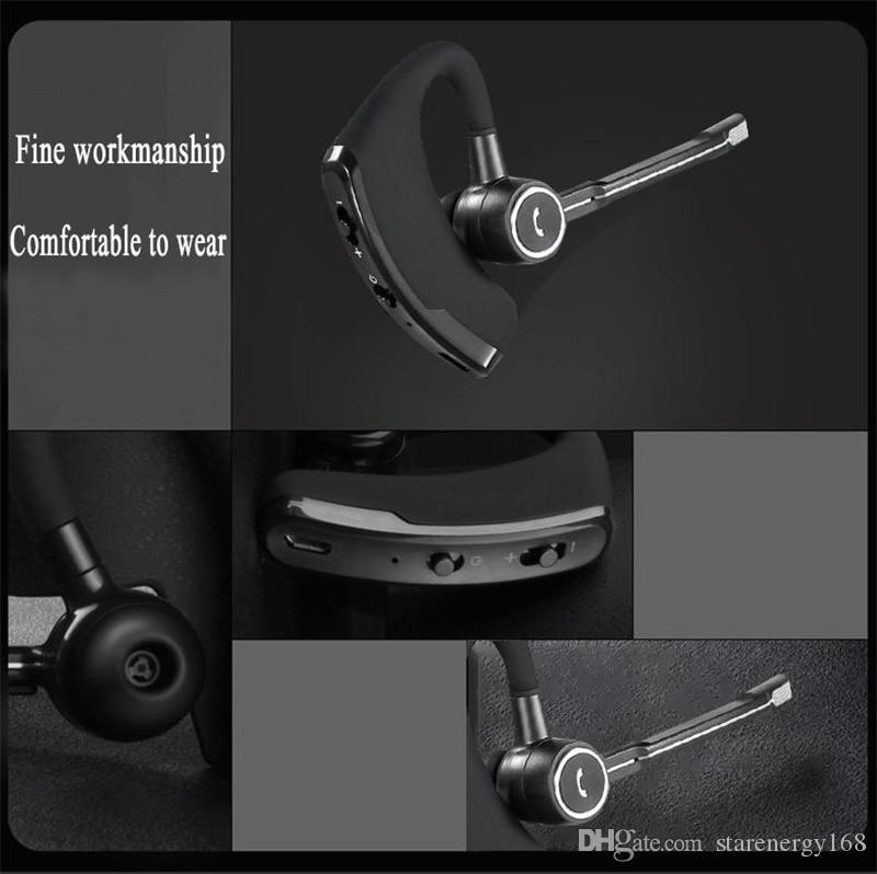 V8 V8S 블루투스 헤드폰 무선 이어폰 핸즈프리 블루투스 헤드셋 V4.1 Legend 스테레오 무선 헤드폰 마이크 볼륨 제어